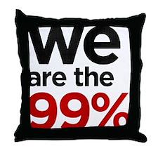 we99 shirt big Throw Pillow