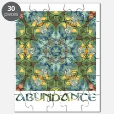 ABUNDANCE square captioned Puzzle
