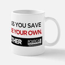 JOIN US - ASS YOU SAVE - Bumper Sticker Mug