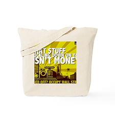 TRICKLE DOWN Tote Bag