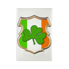 IRISH SHIELD Rectangle Magnet
