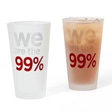 we99 shirt big KO Drinking Glass