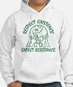 Respect Existence Hoodie