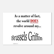 Brussels Griffon World Postcards (Package of 8)