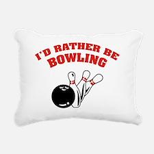 ratherbeBowling2 Rectangular Canvas Pillow