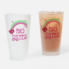 Big Sis Rainbow Drinking Glass