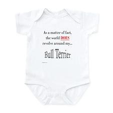 Bull Terrier World Infant Bodysuit