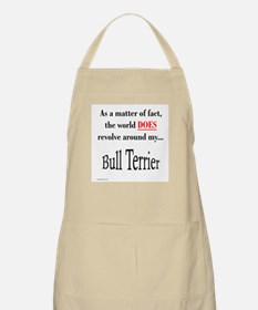 Bull Terrier World BBQ Apron
