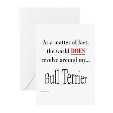 Bull Terrier World Greeting Cards (Pk of 10)