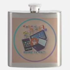 circle Cyber Monday-Bring It On Flask