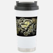 GearsLicensePlate Travel Mug