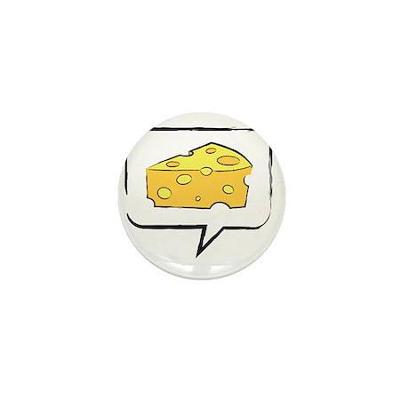 say cheese Mini Button