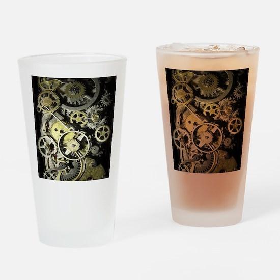 GearsFlpFlopII Drinking Glass
