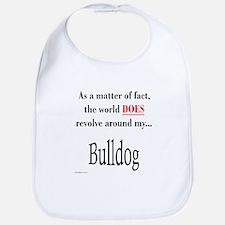 Bulldog World Bib
