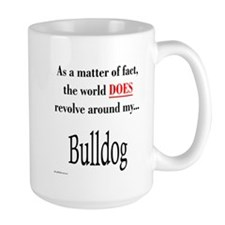 Bulldog World Mug