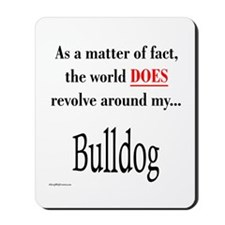 Bulldog World Mousepad
