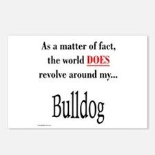 Bulldog World Postcards (Package of 8)