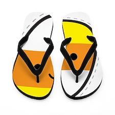 candy_corn Flip Flops