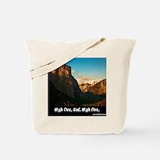 Yosemite_1327_HIGHFIVEGOD_16x20 png Tote Bag