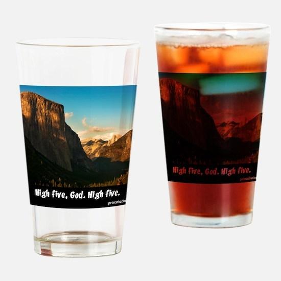 Yosemite_1327_HIGHFIVEGOD_16x20 png Drinking Glass