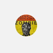 Zombie Bait Label Mini Button