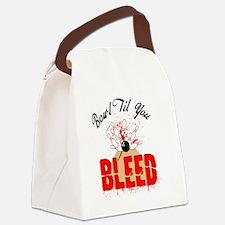 Bowl Til You Bleed Canvas Lunch Bag