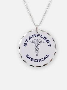 Starfleet Medical Transparen Necklace