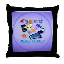 circle Cyber Monday-Bring It On!2 Throw Pillow