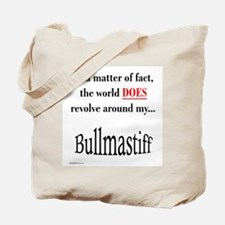 Bullmastiff World Tote Bag