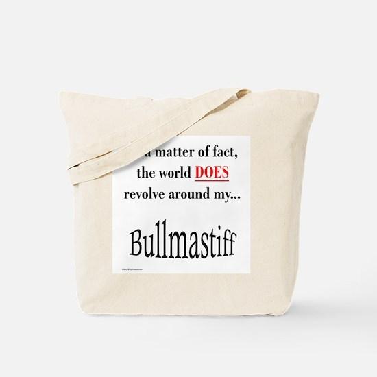 Bullmastiff World Tote Bag