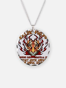 animal cuelty tiger Necklace
