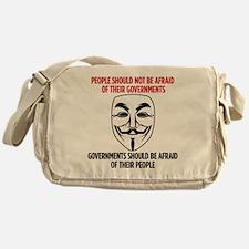 V Mask Messenger Bag