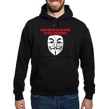 V Mask Hoodie