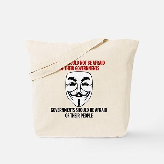 V Mask Tote Bag