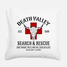 DEATH VALLEY RESCUEc Square Canvas Pillow