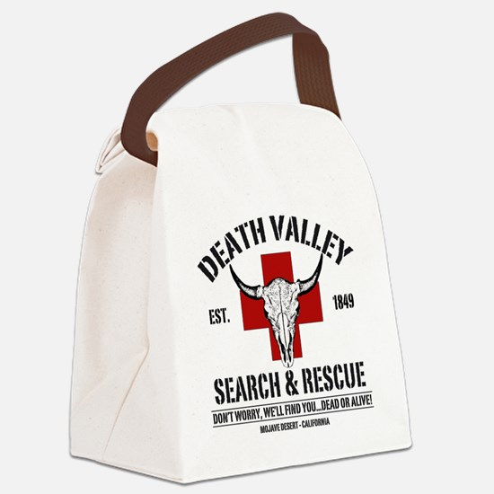 DEATH VALLEY RESCUEc Canvas Lunch Bag