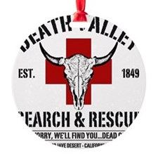 DEATH VALLEY RESCUEc Ornament