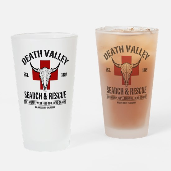 DEATH VALLEY RESCUEc Drinking Glass