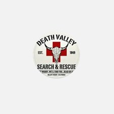 DEATH VALLEY RESCUEc Mini Button