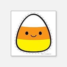 """candy_corn Square Sticker 3"""" x 3"""""""