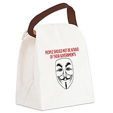 V Mask KO Canvas Lunch Bag