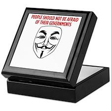 V Mask KO Keepsake Box