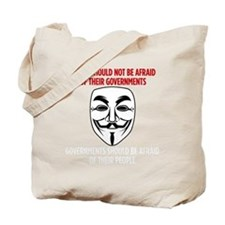V Mask KO Tote Bag
