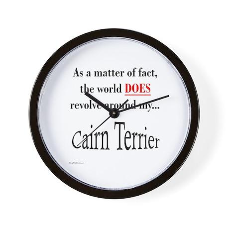Cairn Terrier World Wall Clock