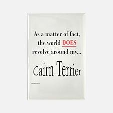 Cairn Terrier World Rectangle Magnet