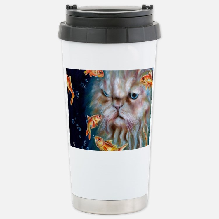 midnight_w Stainless Steel Travel Mug