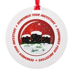 Remember Your Ancestors Ornament
