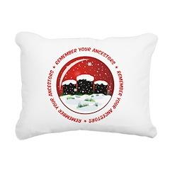 Remember Your Ancestors Rectangular Canvas Pillow