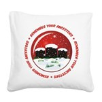 Remember Your Ancestors Square Canvas Pillow
