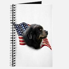 Tibetan Mastiff Flag Journal